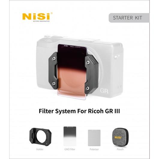 Zestaw filtrowy NiSi STARTER kit Prosories do RICOH GR3 (GR III)