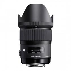 "Obiektyw SIGMA 35mm f/1.4 DG HSM ART Canon + Filtr UV NiSi + Tenba Tools Wrap 12"" black - GRATIS"