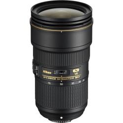 Obiektyw NIKKOR NIKON 24-70mm f/2.8E ED VR + TENBA Tools 16″ Wrap black