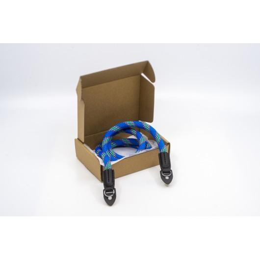 Pasek sznurkowy twardy do aparatu ARM SERIES BLUE - niebieski