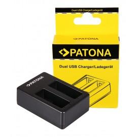 Ładowarka USB 2 kanały do Gopro Hero 8/7/6 z kabelkiem micro USB