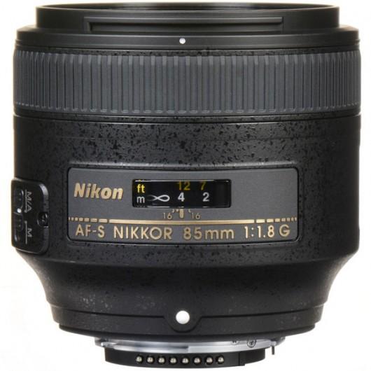 Obiektyw AF-S NIKKOR 85mm f/1.8G