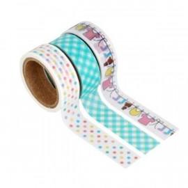 Taśma Fujifilm Instax Scrapbook Washi Tape Pack - BABY (3 rolki)