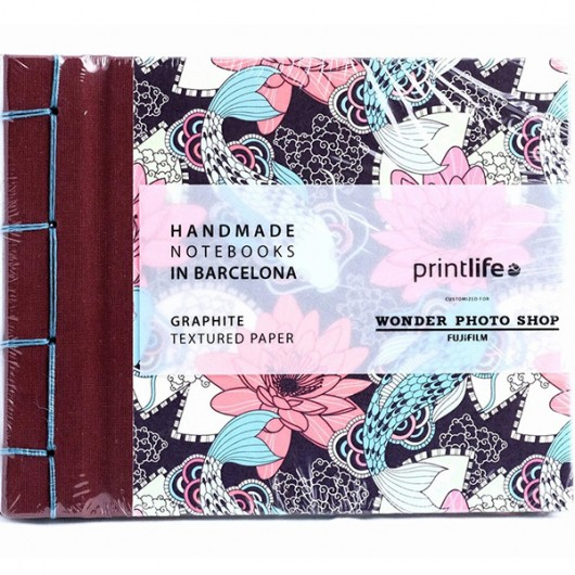 Album Printlife Instax Scrapbook - JAPAN Graphite 15x13cm z obszyciem AJ8GJ38