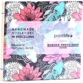 Album Printlife Instax Scrapbook - STICK Graphite 13x13cm
