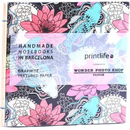 Album Printlife Instax Scrapbook - STICK Graphite 13x13cm AT8GJ38