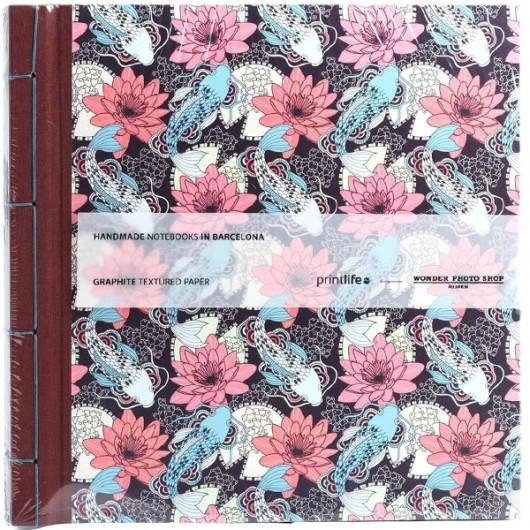 Album Printlife Instax Scrapbook - JAPAN Graphite 30x30cm z obszyciem AJ6GJ38