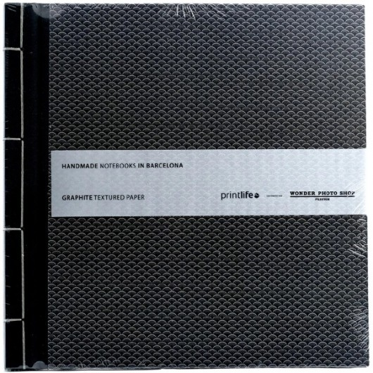 Album Printlife Instax Scrapbook - JAPAN Graphite 23x23cm z obszyciem AJ4GJ04