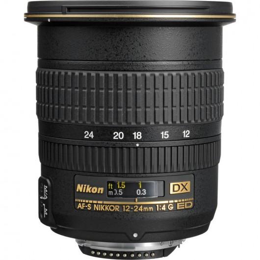 Obiektyw AF-S DX Zoom-NIKKOR 12-24mm f/4G ED-IF