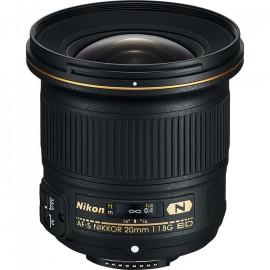 Obiektyw NIKKOR NIKON AF-S 20 mm f/1.8G ED