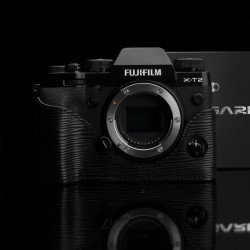 Half case GARIZ do Fuji X-T2 seria Black Label kolor Czarny BL-XT2ABK