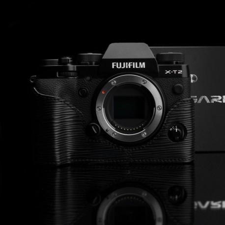Half case do Fuji X-PRO 2 seria Black Label kolor Czarny