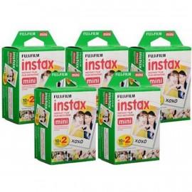 Wkłady Fujifilm Instax Mini Glossy 5x (2x10/PK) na 100 zdjęć