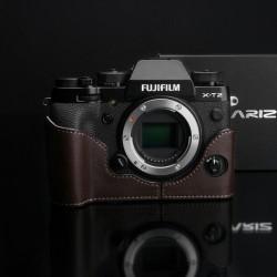 Half case GARIZ do Fuji X-T2 Fuji X-T3 kolor Brązowy XS-CHXT2BR