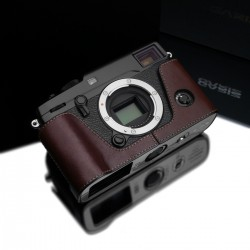 Half case GARIZ do Fuji X-Pro2 kolor Brązowy XS-CHXP2BR