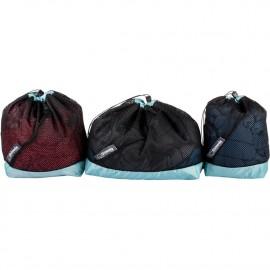 Shimoda Stuff Sack Kit-Black zestaw 3 worków na drobne akcesoria