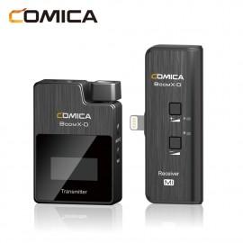 Comica BoomX-D MI1 zestaw bezprzewodowy z mikrofonem krawatowym Lightning