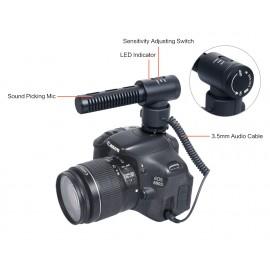 Comica CVM-SV20 Superkardioidalny mikrofon typu shotgun jack 3,5mm