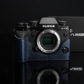 Half case do Fuji X-T2 Fuji X-T3 kolor niebieski GARIZ XS-CHXT2NV