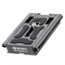 Wielofonkcyjna płytka mocująca Benro ArcaSmart70 do aparatu i smartfona