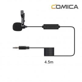 Comica CVM-V01CP 4,5m Mikrofon krawatowy do aparatów i kamer GoPro jack 3,5mm