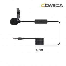 Comica CVM-V01SP 4,5m Mikrofon krawatowy do smartfona ze złączem TRRS jack 3,5mm