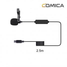 Comica CVM-V01SP(UC)(2,5m) Mikrofon krawatowy do smartfonów USB-C