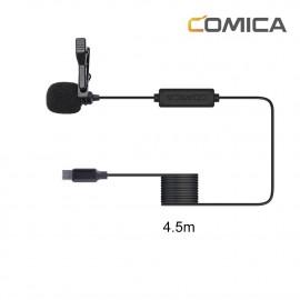 Comica CVM-V01SP(UC)(4,5m) Mikrofon krawatowy do smartfonów USB-C