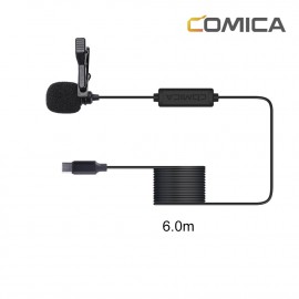 Comica CVM-V01SP(UC)(6m) Mikrofon krawatowy do smartfonów USB-C