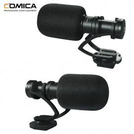 Comica CVM-VM10II B Kardioidalny mikrofon typu shotgun jack 3,5mm
