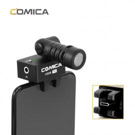 Comica CVM-VS09 TC Mikrofon kardioidalny do smartfonów USB-C