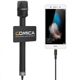 Comica HRM-S Mikrofon reporterski do smartfona TRRS jack 3,5mm