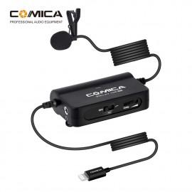 Comica SIG.LAV V05 MI Mikrofon krawatowy do smartfona Lightning