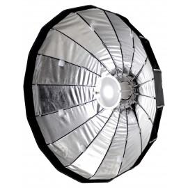 PHOTTIX Rani 85 składany softbox / beauty-dish srebrny z gridem