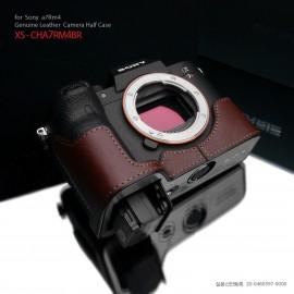 GARIZ XS-CHA7RM4BR half case do Sony A7R M4 (IV) - brązowy