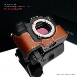 GARIZ XS-CHA7RM4CM half case do Sony A7R M4 (IV) - jasno-brązowy