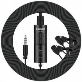 Synco S6D mikrofon krawatowy podwójny