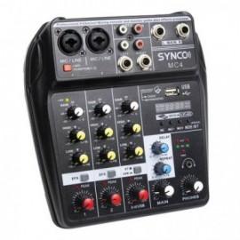 Synco MC4 mikser audio 4 kanałowy