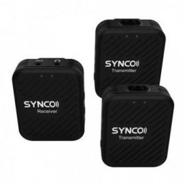 Synco G1 A2 bezprzewodowy system mikrofonowy 2,4 GHz - 2 odbiorniki