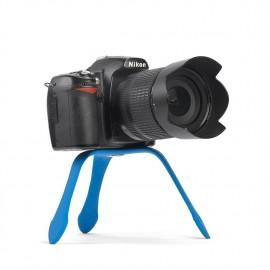 Splat Flexible Tripod SLR Blue