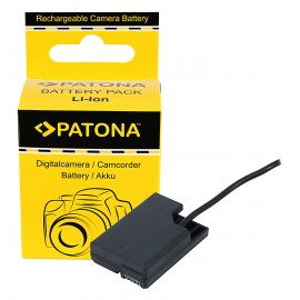 Patona Dummy Adapter baterii Nikon EN-EL14 z D-Tap