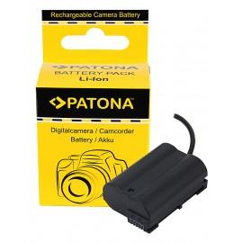 Patona Dummy Adapter baterii Nikon EN-EL15 z D-Tap