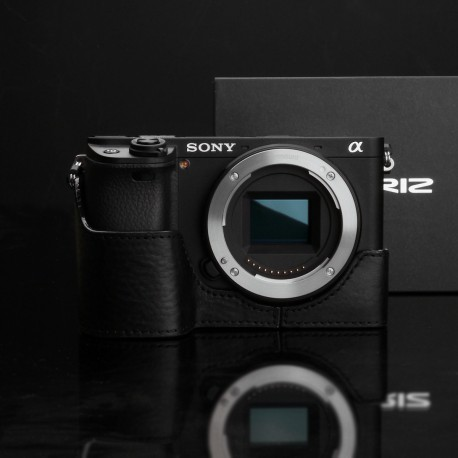 Half case GARIZ do Sony A6300 XS-CHA6300BK Czarny