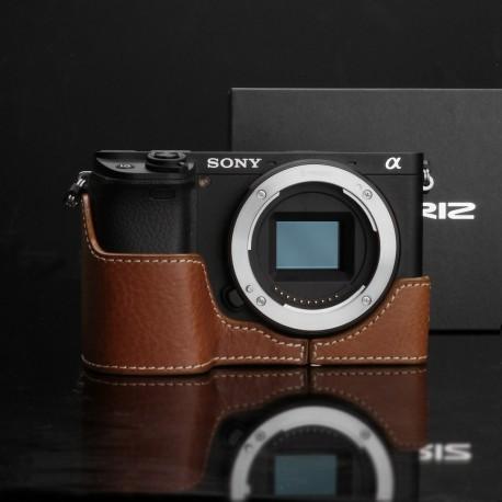 Half case GARIZ do Sony A6300 XS-CHA6300CM Jasny Brąz