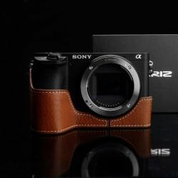 Half case GARIZ do Sony A6500 XS-CHA6500CM Jasny Brąz