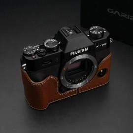 GARIZ XS-CHXT30BK half case do Fujifilm X-T30 - jasno brązowy