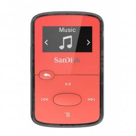 ODTWARZACZ SANDISK MP3 8 GB CLIP JAM – Czerwony