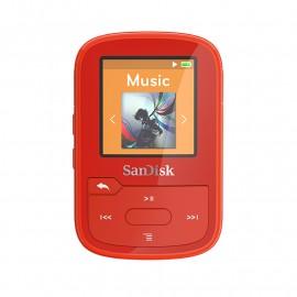 ODTWARZACZ SANDISK MP3 16GB CLIP SPORT PLUS – Czerwony