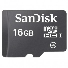 KARTA SANDISK microSDHC 16 GB