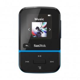 ODTWARZACZ SANDISK MP3 16GB CLIP SPORT GO – Niebieski